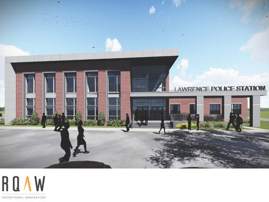 A new police station in Lawrence?