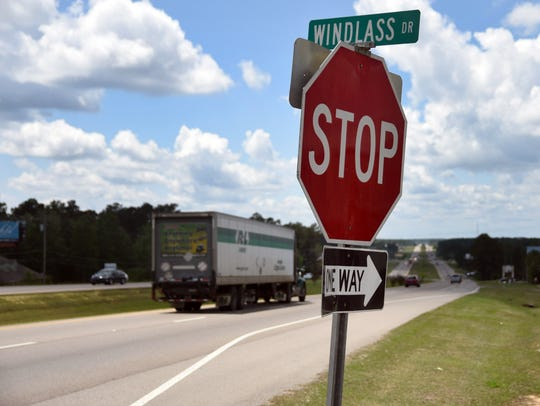 The Windlass Drive area would be included in Hattiesburg