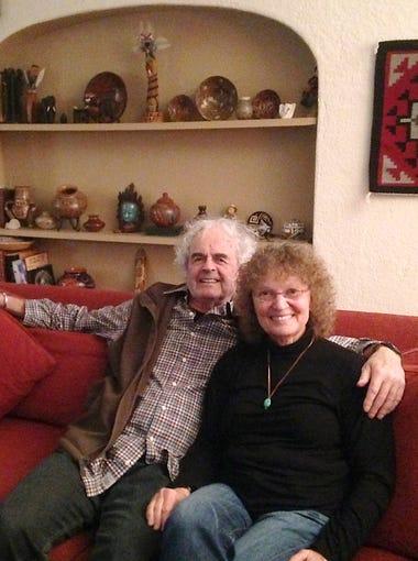 Homeowners Jay Braun and Sara Gutierres.