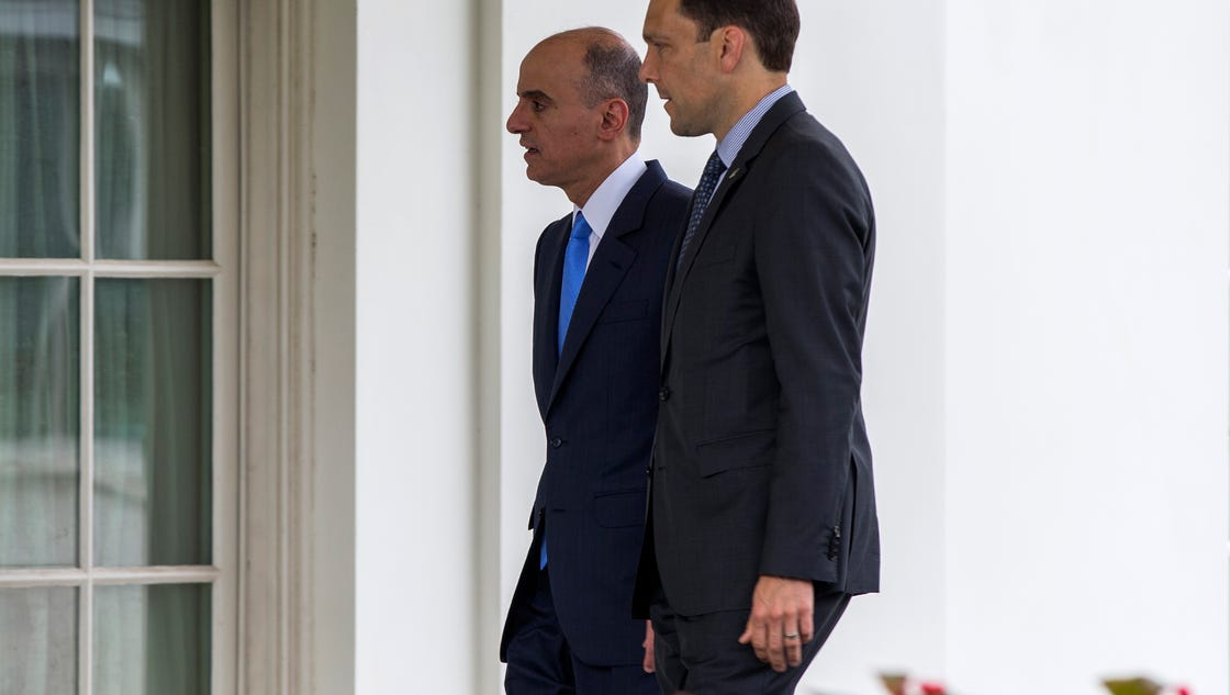 Obama meets saudi official about iran deal