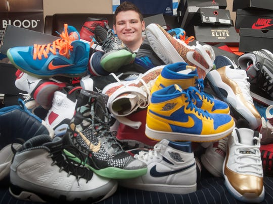 Cherry Hill East junior Justin Liebman is a sneaker collector who started his own nonprofit called Karing 4 Kicks to help provide sneakers to those who are less fortunate.