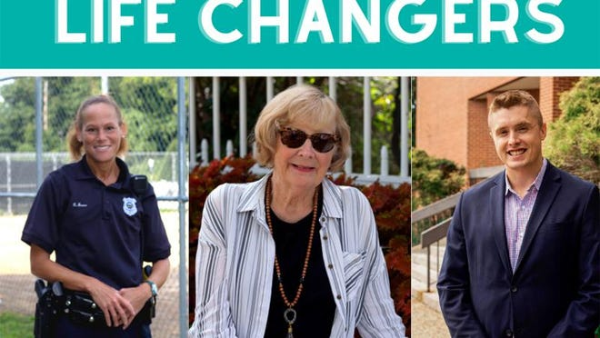 Havens annual fall fundraiser, Ending Violence, Changing Lives, will be a virtual event Wednesday, Sept. 30. It will honor, from left, Portsmouth Police detective Rochelle Jones, Haven volunteer Jane Torrey and attorney Leif Becker.