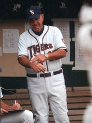 Former LSU head coach Skip Bertman led the Tigers to