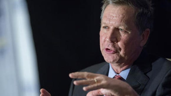 GOP presidential contender John Kasich is slated to
