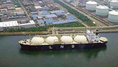 A Louisiana-based company says it plans to build a massive facility along the Calcasieu River ship channel to export liquefied natural gas.