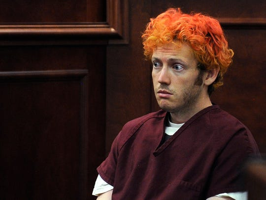 James Holmes, shown in a July 12, 2012 file photo,