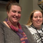 Foster parents April Hoagland and Beckie Peirce are photographed on Wednesday, Nov. 11, 2015 in Salt Lake City.
