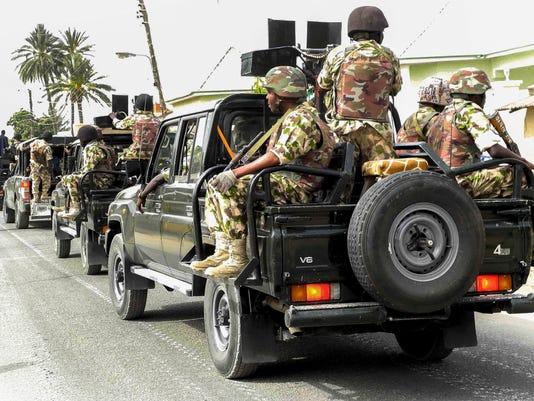 EPA NIGERIA OPERATION BOKO HARAM WAR ARMED CONFLICT NGA