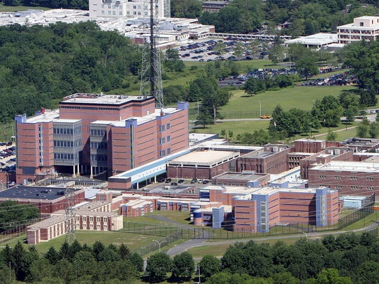 The Westchester County jail in Valhalla, N.Y..