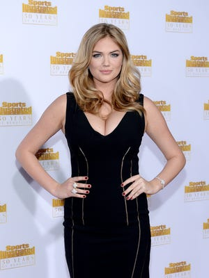 Kate Upton poses on Jan. 14, 2014 in Hollywood.