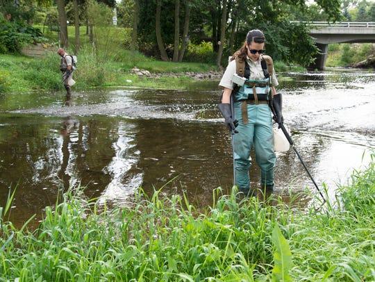 U.S. Fish and Wildlife Service Biologist Rebecca Phillips