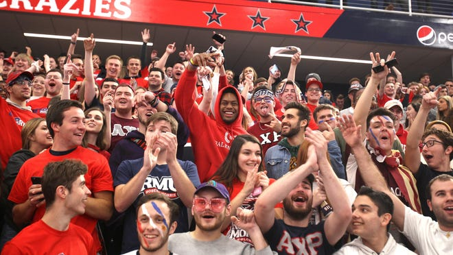 Robert Morris University students will soon fill the stands again at UPMC Events Center, as President Christopher Howard announced a return to fully in-person learning and athletics for the summer and fall 2021 semesters.