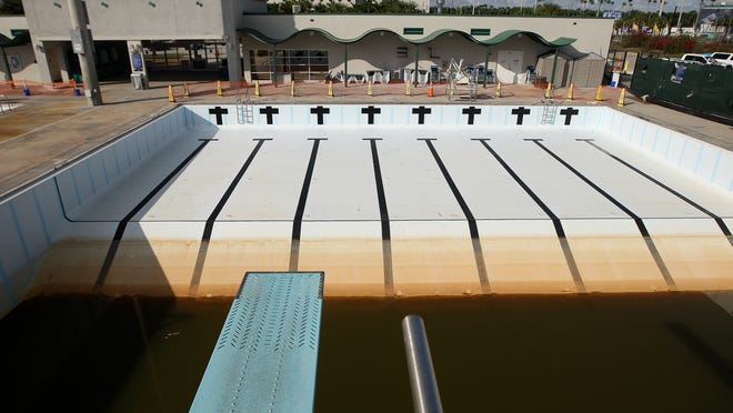 Ground water seeped into the pools at the FGCU Aquatic Center in Fort Myers, requiring $1.5 million in repairs.