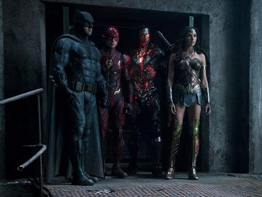 Justice League SDCC