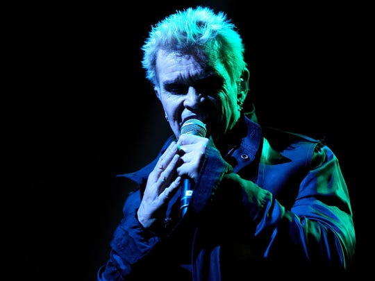 Billy Idol in 2016 at the BMO Harris Pavilion at Summerfest.
