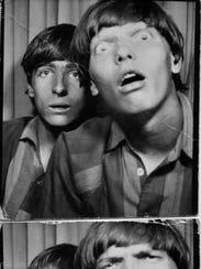 Alice Cooper and Dennis Dunaway as high-school kids