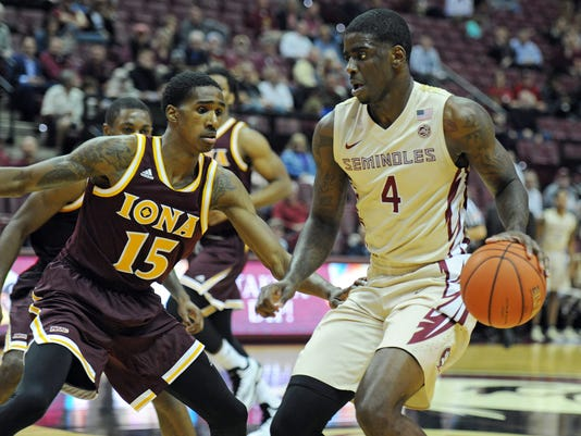 NCAA Basketball: Iona at Florida State