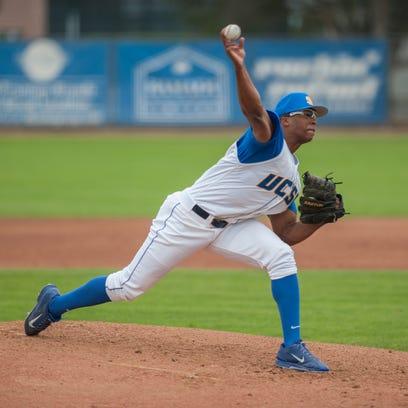 UC Santa Barbara pitcher Dillon Tate.