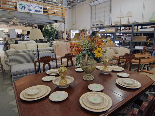 Palm Desert's Habitat for Humanity ReStore is filled with nearly everything needed to furnish and decorate a home, including washers, dryers, dishwashers, stoves, refrigerators, living, dining, and bedroom furniture, and even bathtubs.