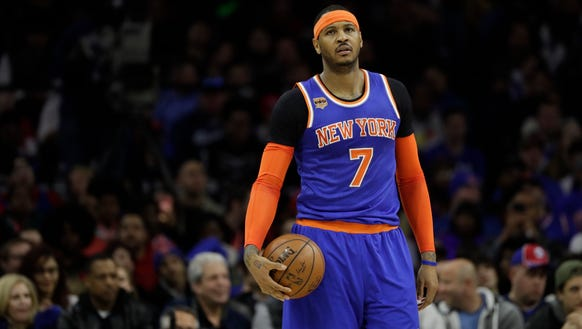 Carmelo Anthony's Knicks are the most valuable franchise