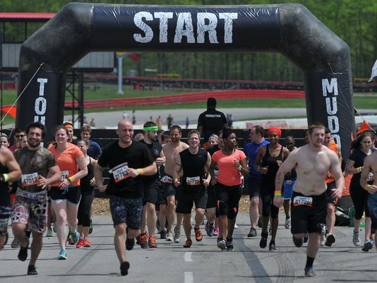News: Tough Mudder Run at Mid-Ohio