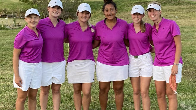 The Hays High girls golf team won the Great Bend Invitational on Tuesday and wrapped up the Western Athletic Conference title.