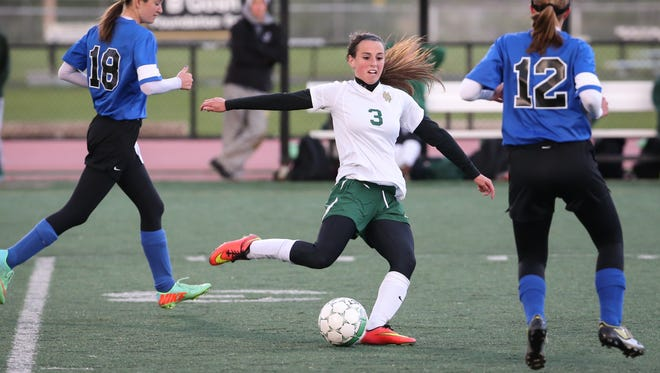 Addie Schmitz is one of five returning all-conference players for Oshkosh North this season.