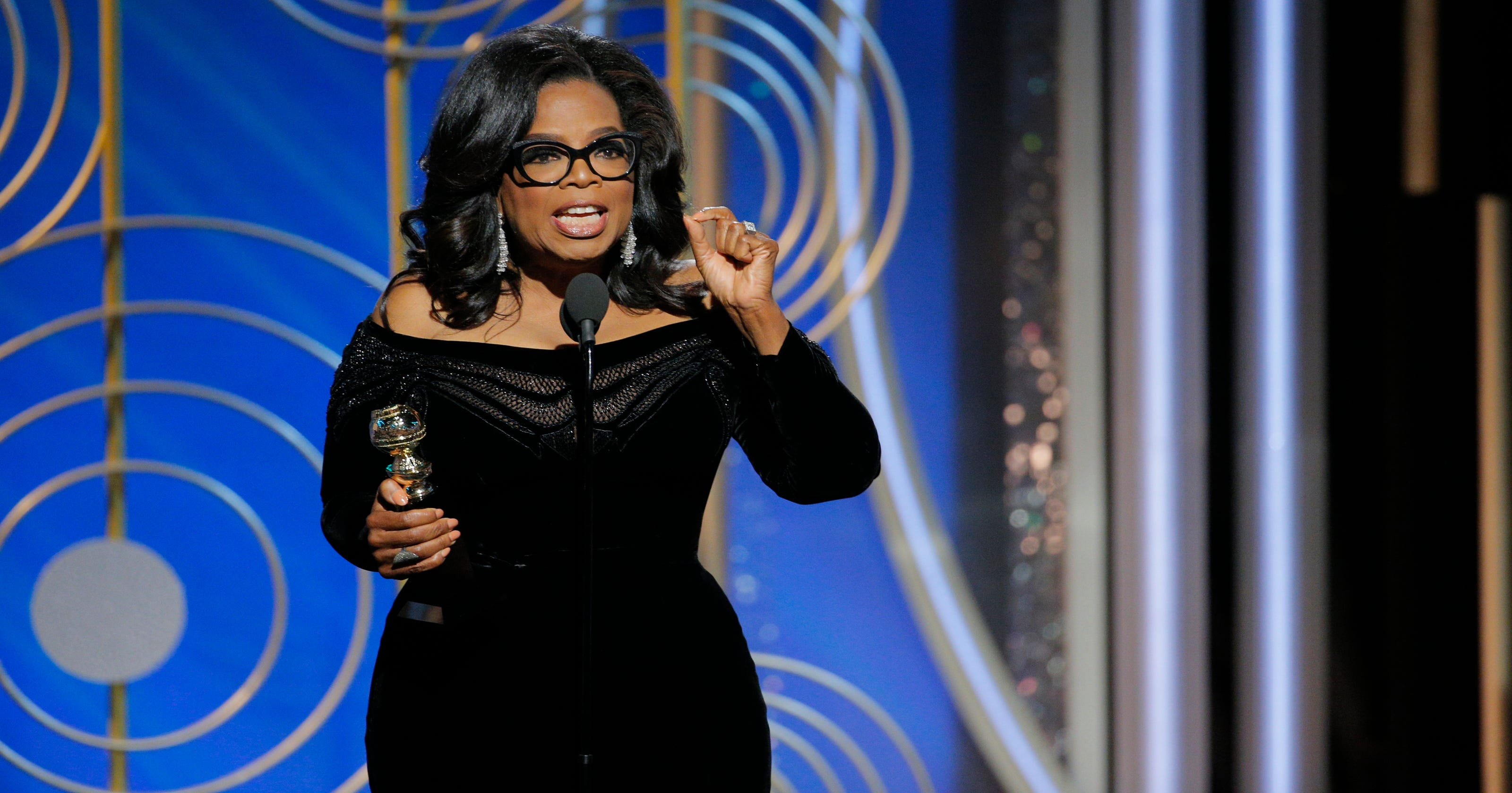 5b23ec09c05 Oprah got a big award at the Golden Globes. Why did it take so long