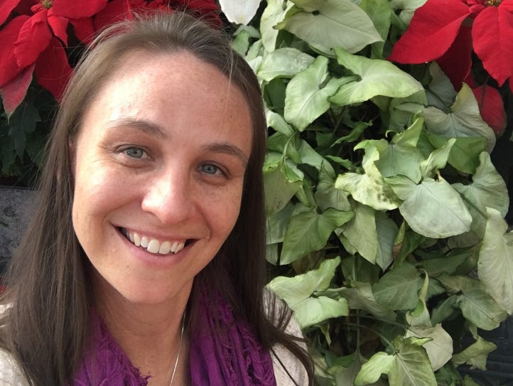 Mindy Salley, a high school volleyball coach for 13
