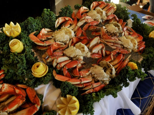 Colorful crab will be served up at Mo's Crab and Chowder Festival at Willamette Valley Vineyards.