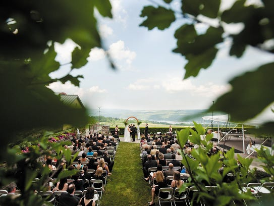 Heron Hill Winery Holds Weddings At Its Main Site