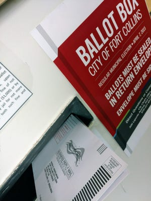 Ballots are dropped at the Northside Aztlan Community Center in Fort Collins on April 4, 2017. Municipal elections for Mayor and Districts 1, 3 and 5 are today.