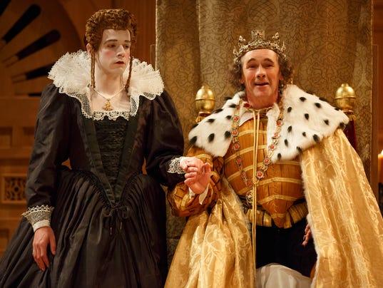 AP Theater Review-Twelfth Night-Richard III