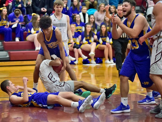 Shippensburg hosted Waynesboro in basketball on Tuesday,