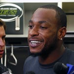 Jets wide receiver Percy Harvin