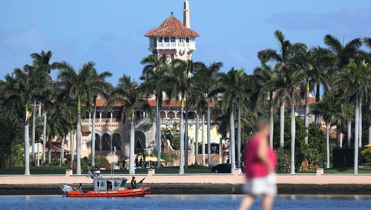 """President Donald Trump has owned the Mar-a-Lago estate for decades. It is not being dubbed the """"Winter White House"""" as he is spending much time there."""