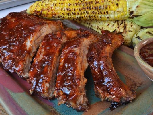 Bourbon bacon BBQ sauce and spice rub (Photo: Jan D'Atri)