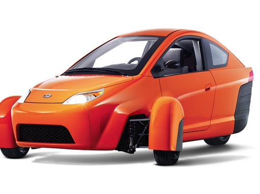 with front wheel drive the Elio is good in snow and other bad weather