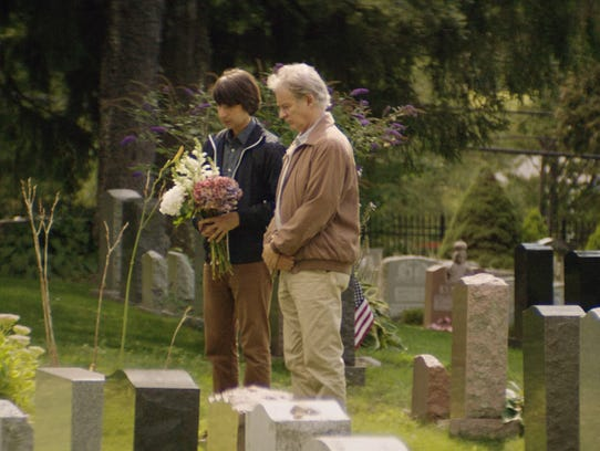 Demetri Martin (left) and Kevin Kline in a scene from