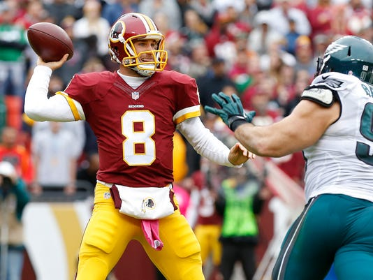 USP NFL: PHILADELPHIA EAGLES AT WASHINGTON REDSKIN S FBN USA MD