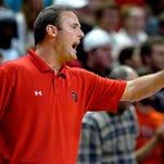 Lamar Cardinals coach Pat Knight during a game last season. Kelly Lambert-US PRESSWIRE