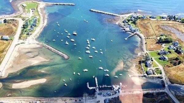 An upcoming dredging project in Rye Harbor, New Hampshire, will use the Isles of Shoals North Disposal Site approved by the EPA, as announced Friday, Sept. 25, 2020.