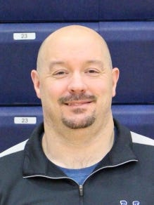 Providence interim basketball coach Rob Murawski, an 11-year coaching veteran in Southern Indiana.