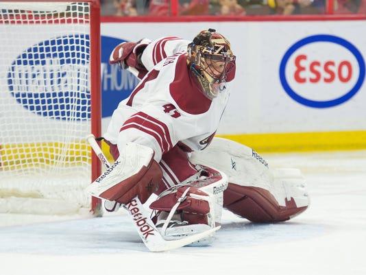 NHL: Arizona Coyotes at Ottawa Senators