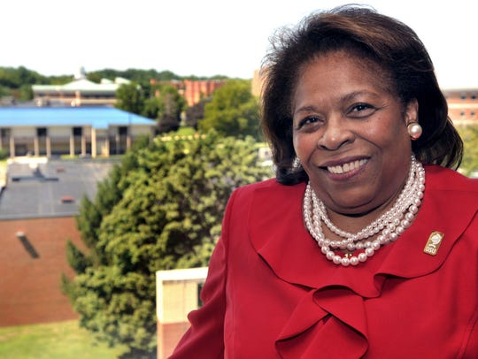 Dr. Wilma Mishoe has been named as the first woman