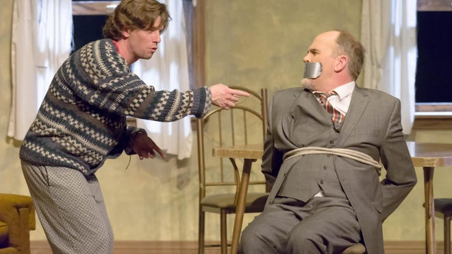 """OpenStage Theatre brings big laughs and adrenaline to The Lincoln Center with """"Orphans."""""""