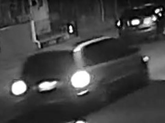 Police say this vehicle was used by a man who committed a sexual assault June 16 in Camden.