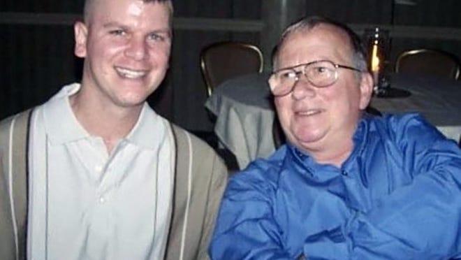 Dan Remillard with his dad, Ron.