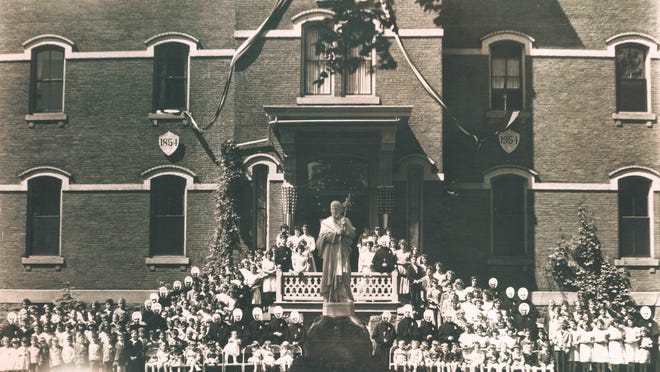Centennial celebration at the North Avenue orphanage.