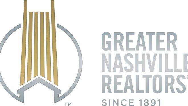 The new logo for Greater Nashville Realtors.
